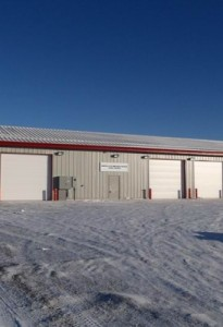 Marcel Colomb First Nation Truck Storage Garage